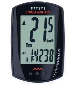 CatEye Strada Wireless Universal CC-RD310DW Cycling Computer Black
