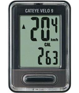Cateye Velo 9 9 Function Wired VL820 Bike Computer Black