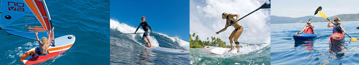 Bic Brands, Windsurfing Boards, Packages, Kayaks