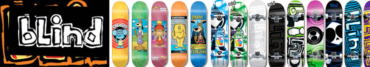 Blind Skateboard Decks & Completes