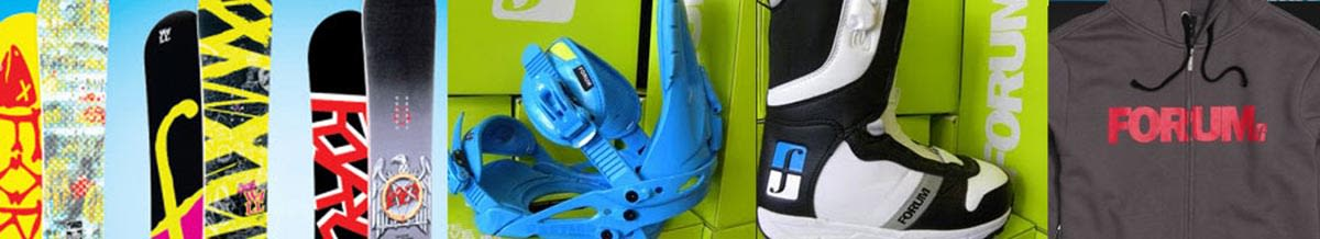 Forum Snowboards, Snowboard Boots, Bindings, Jackets & Pants