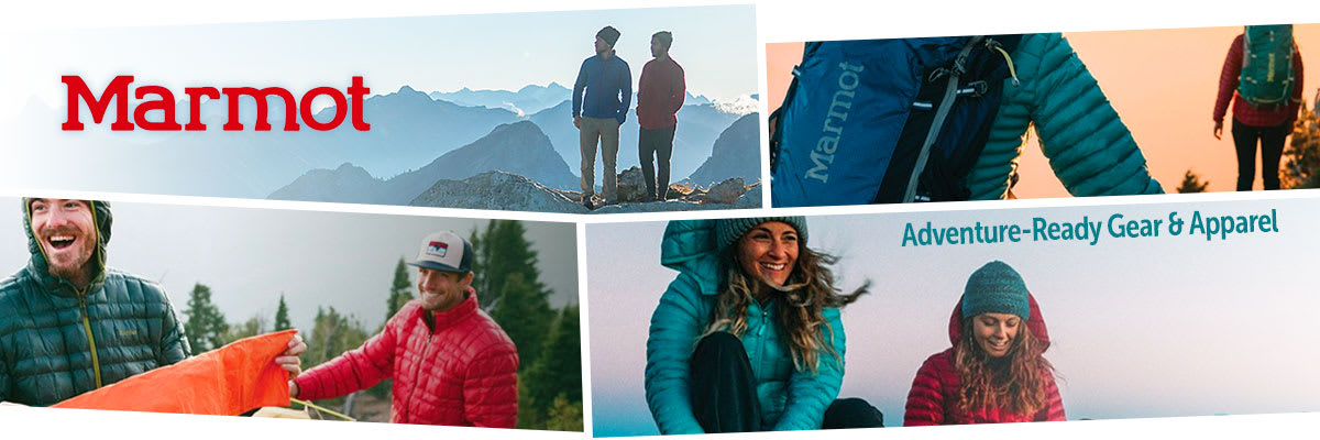 Marmot Clothing, Sleeping Bags, Tents, Shelters & Tarps