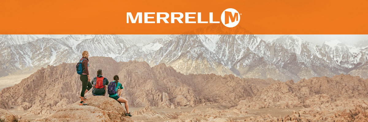 Merrell Hiking Shoes, Boots, Outdoor Footwear