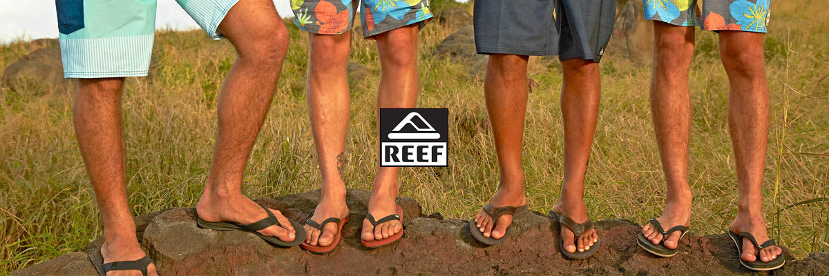Reef Sandals, Shoes, Hoodies, Boardshorts, Shirts, Polos