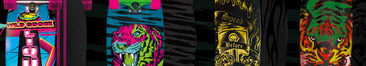 Speed Demon Skateboard Decks & Completes