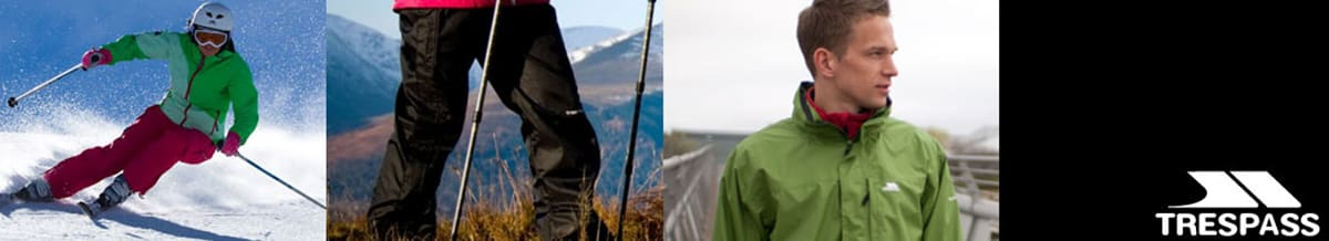 Trespass Snowboard Clothing, Jackets & Pants