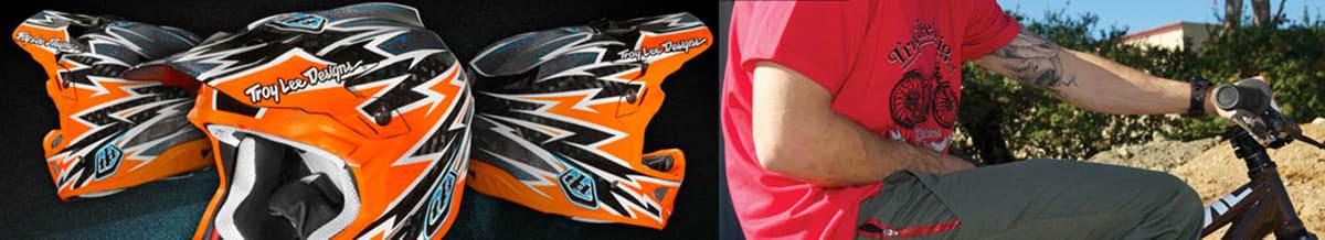 Troy Lee Designs Motocross, BMX Helmet, Protective Gear, Apparel