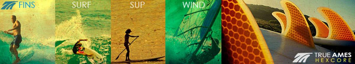 True Ames Windsurfing Fins & Accessories