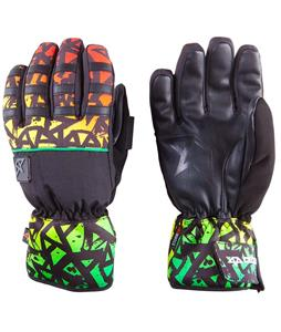 Celtek Ace Gloves Rasta Graffiti