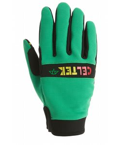 Celtek Misty Gloves Green