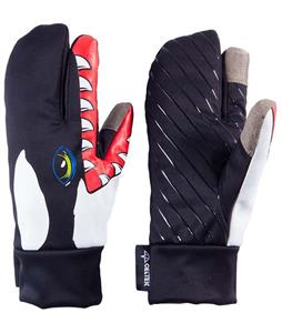 Celtek Trigger Touchscreen Gloves Killer Whale Dude