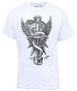 Celtek Whoa Snakebite T-Shirt White