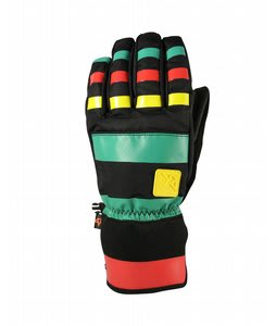 Celtek Ace Gloves Rasta