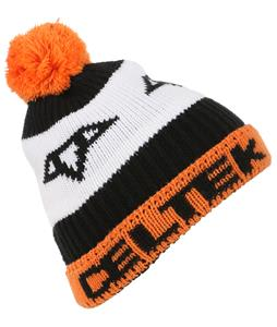 Celtek Logo Pom Beanie Orange