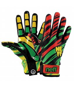 Neff Chameleon Gloves Rasta