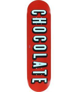 Chocolate Eldridge And Chill Skateboard Deck