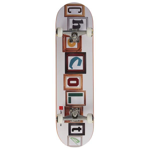 Chocolate Pappalardo Frames Skateboard Complete