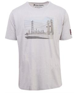 Chrome 4 Points T-Shirt Grey