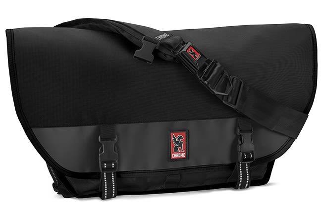 Chrome Citizen Messenger Bag All Black 26L