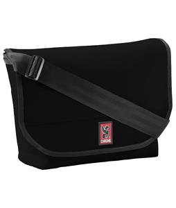 Chrome Classic Messenger Bag Black/Black 17L
