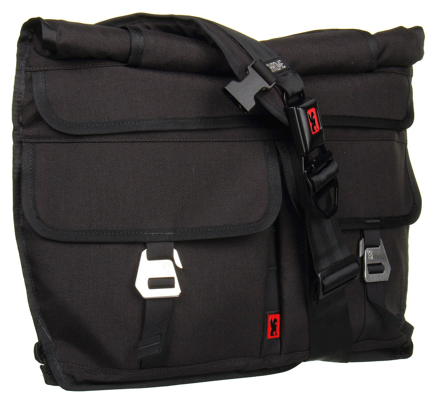 Chrome Lieutenant Messenger Bag Black 26L