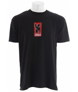 Chrome Lockup T-Shirt Black
