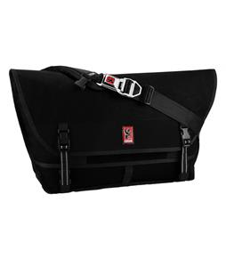 Chrome Metropolis Messenger Bag Black/Black 40L