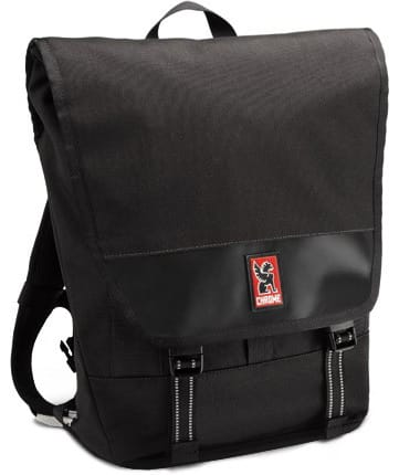 Chrome Sentinal Messenger Bag Black/Black 22L