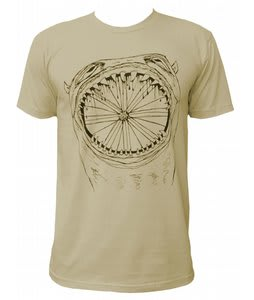 Chrome Threadless Wheel T-Shirt Cream