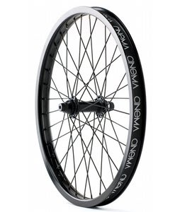 Cinema 333 Front BMX Wheel Black Anodized 20