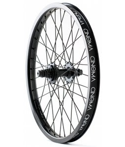Cinema 333 Rear BMX Wheel Black Anodized 20