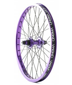 Cinema 333 Rear BMX Wheel Purple Anodized 20