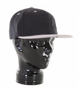 Circa Color Blocked 210 Fitted Hat Black/Grey