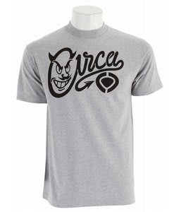 Circa Devil Icon T-Shirt Athletic Heather