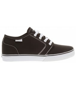 Circa Drifter Skate Shoes Black/White