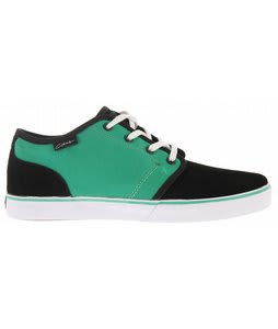 Circa Drifter Skate Shoes Black/Vivid Green