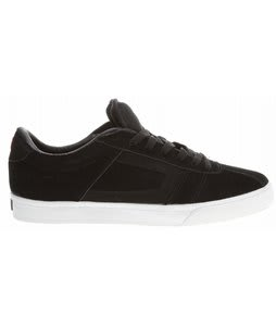 Circa Fix Skate Shoes Black/White/True Red