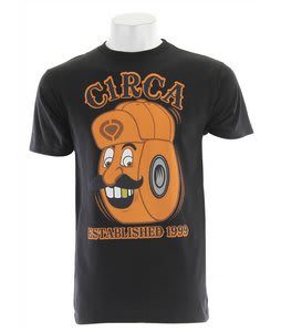 Circa Happy Wheel T-Shirt Black