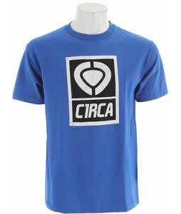 Circa Insider Logo T-Shirt Royal Blue