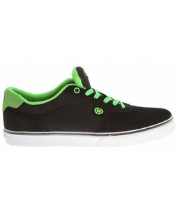 Circa Lamb Skate Shoes Black/Creature Green