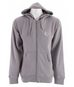 Circa Lopez Zip Hoodie Drizzle Gray