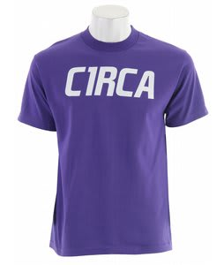 Circa Mainline Font T-Shirt Purple