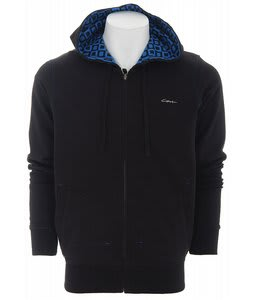 Circa Mod Fleece Hoodie Black