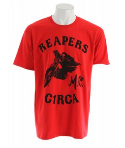 Circa Reapers Mc T-Shirt Red