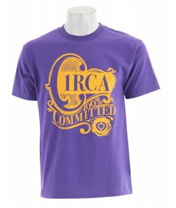 Circa Stamp T-Shirt Purple