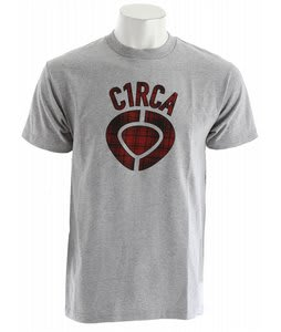 Circa Staple Plaid Icon T-Shirt Athletic Heather