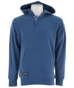 Circa Syrian Henley Hoodie Dark Blue
