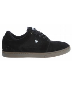 Circa Talon Skate Shoes Black/Dark Gum