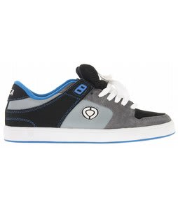 Circa Tave TT2 Skate Shoes Black/Grey/Skydiver