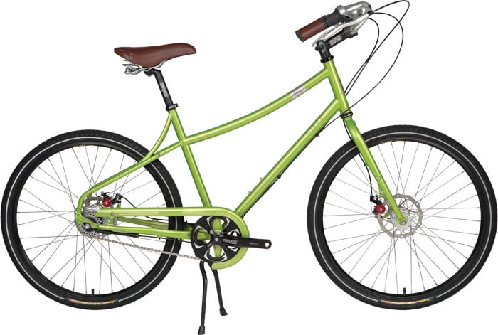 "Shop for Civia Loring BaSE 3 Bike Green Apple 19"" (L)"